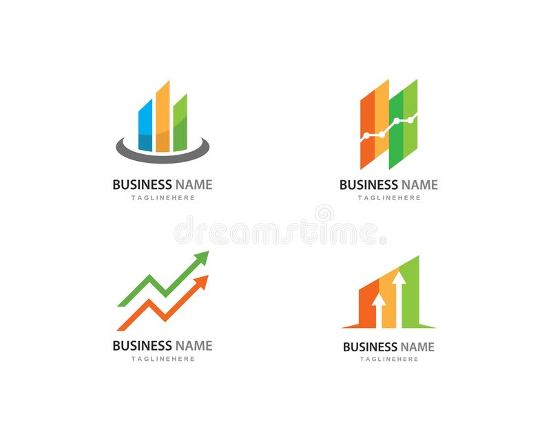 Business Finance logo royalty free illustration