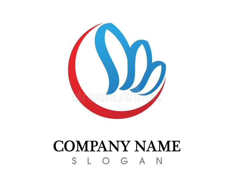 Business finance logo and symbols vector concept illustration royalty free illustration