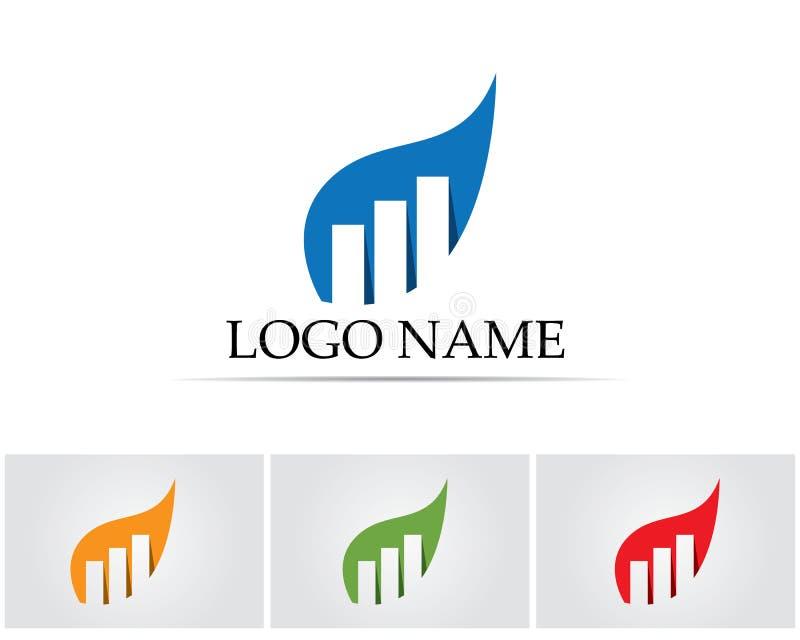Business finance logo and symbols vector concept illustration vector illustration