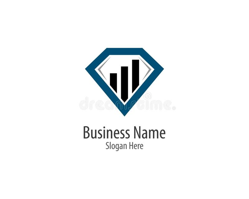Business finance logo template vector icon vector illustration