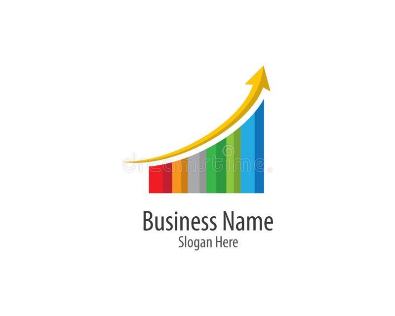 Business finance logo template vector icon vector illustration