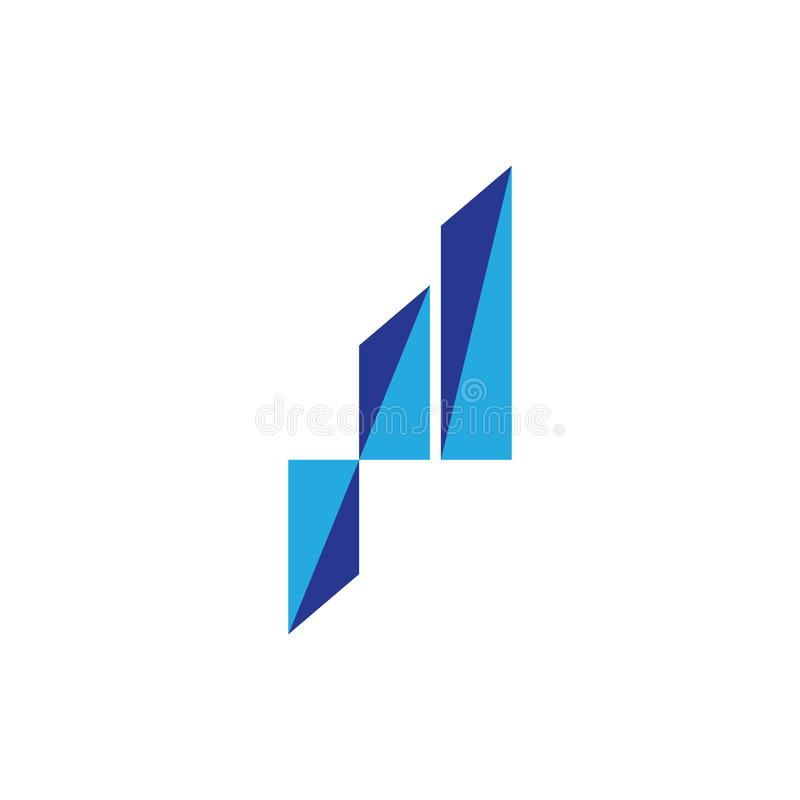 Business Finance Logo template royalty free illustration