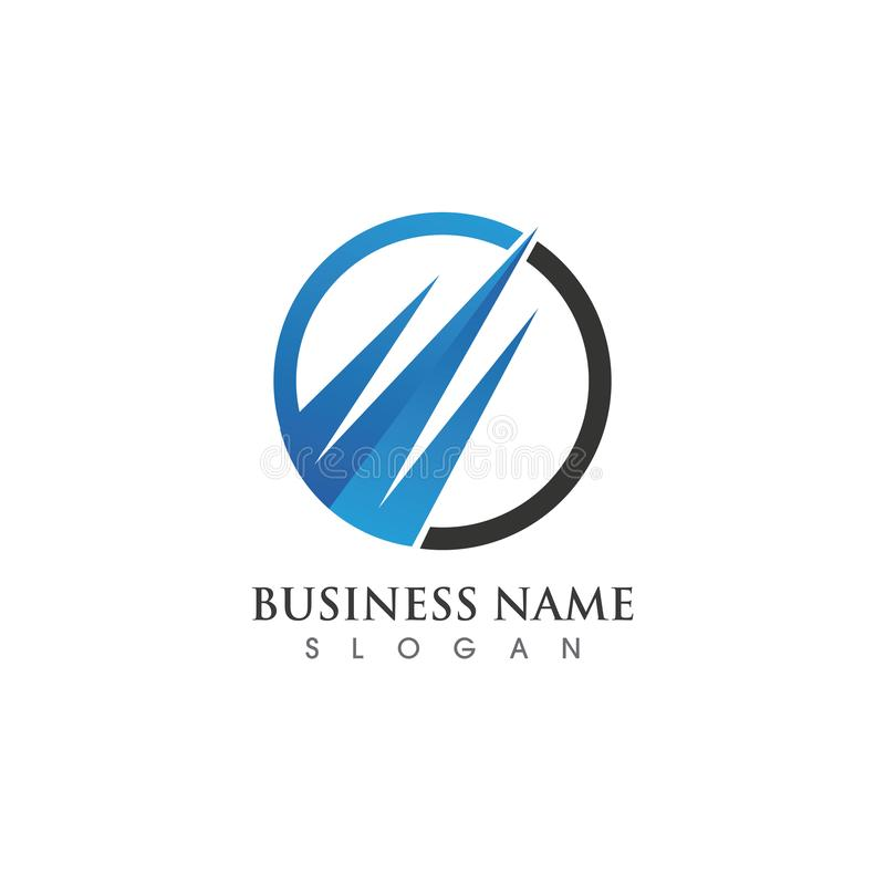 Business Finance Logo template stock illustration