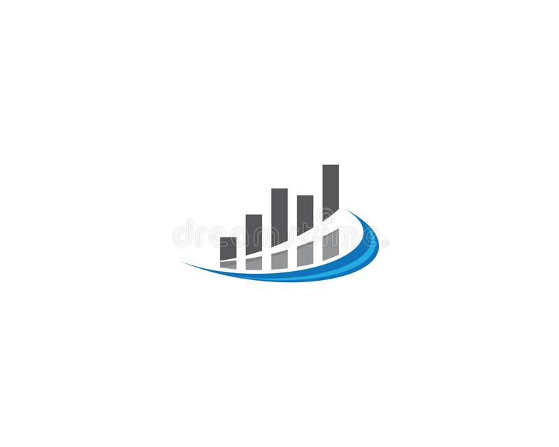 Business Finance Logo. Template vector icon illustration, technology, abstract, corporate, account, analyze, arrow, bank, broker, cash, chart, colorful, company vector illustration