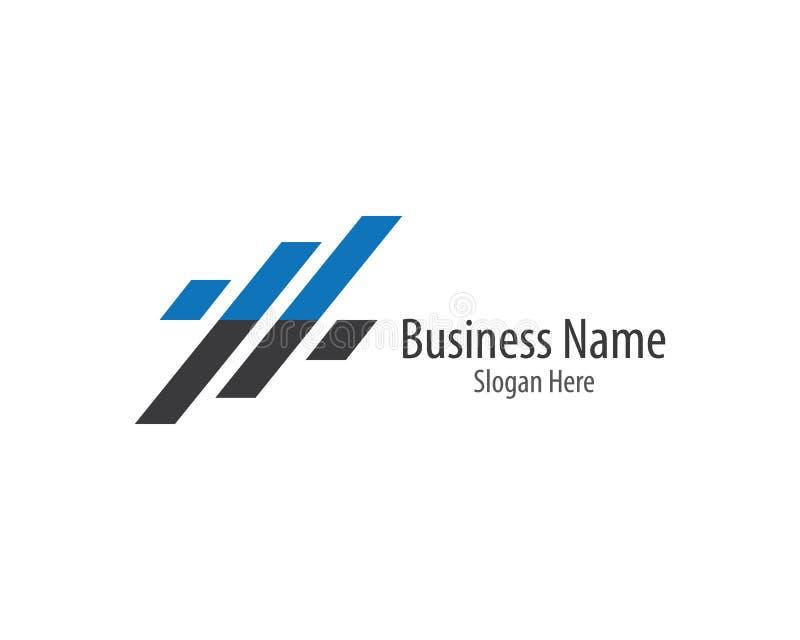 Business finance logo template vector icon stock illustration