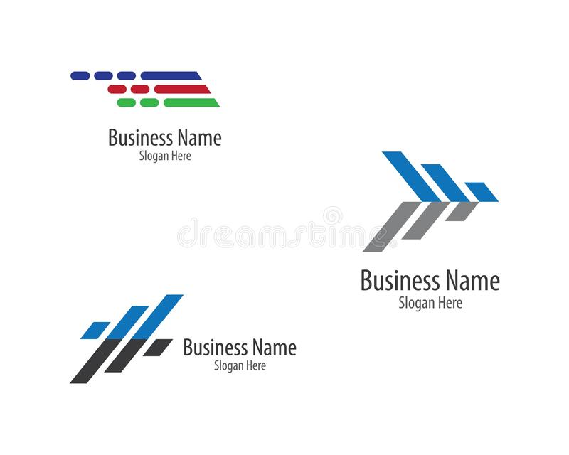 Business finance logo template vector icon. Illustration, technology, abstract, corporate, account, analyze, arrow, bank, broker, cash, chart, colorful, company vector illustration