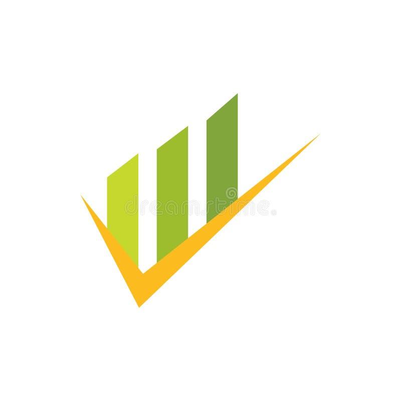 Business Finance professional logo royalty free illustration
