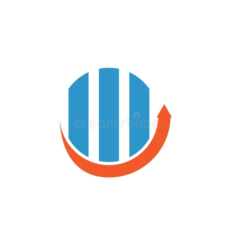 Business Finance professional logo vector illustration