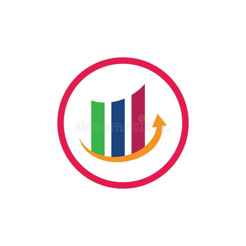 Business Finance professional logo stock illustration