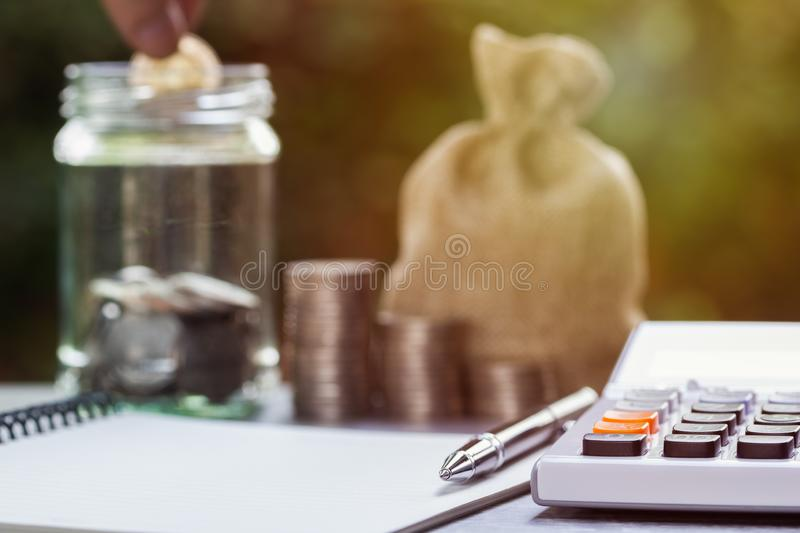 Business and financial property concept for home loan, mortgage, saving and investment royalty free stock photography