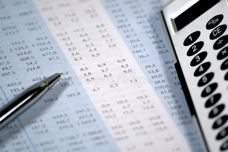 Download Business And Financial Report Stock Image - Image: 1661125