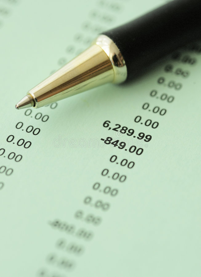 Download Business Financial Results - Calculating Budget Stock Image - Image: 6533427