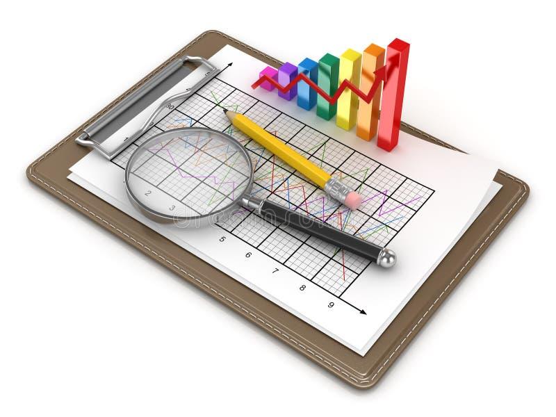 Business Finans Concept stock illustration