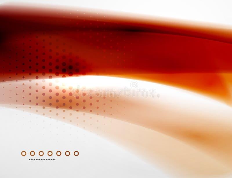 Business flowing wave vector illustration
