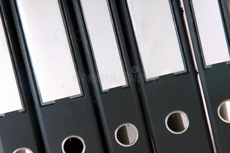Business folders royalty free stock photography