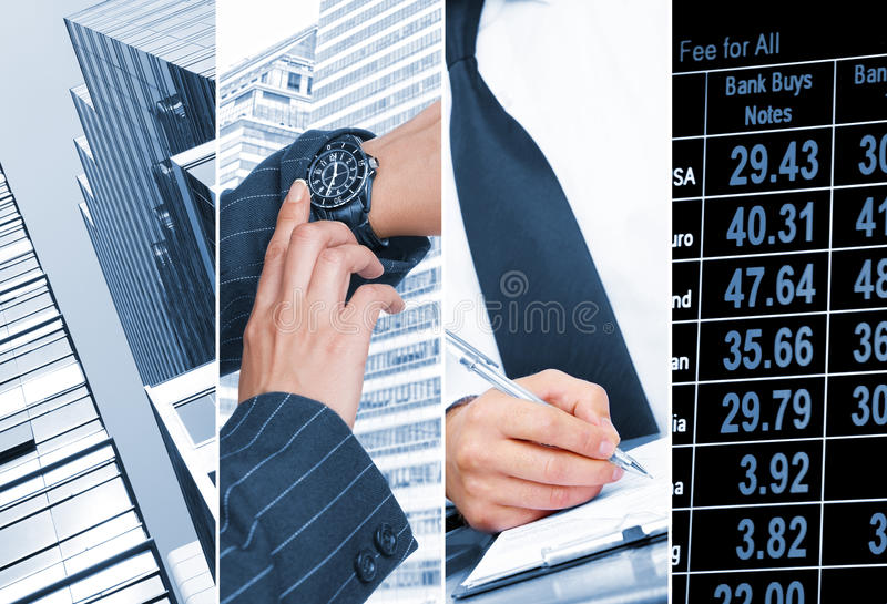 Business four royalty free stock photo