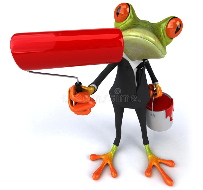 Download Business Frog Stock Image - Image: 20446721