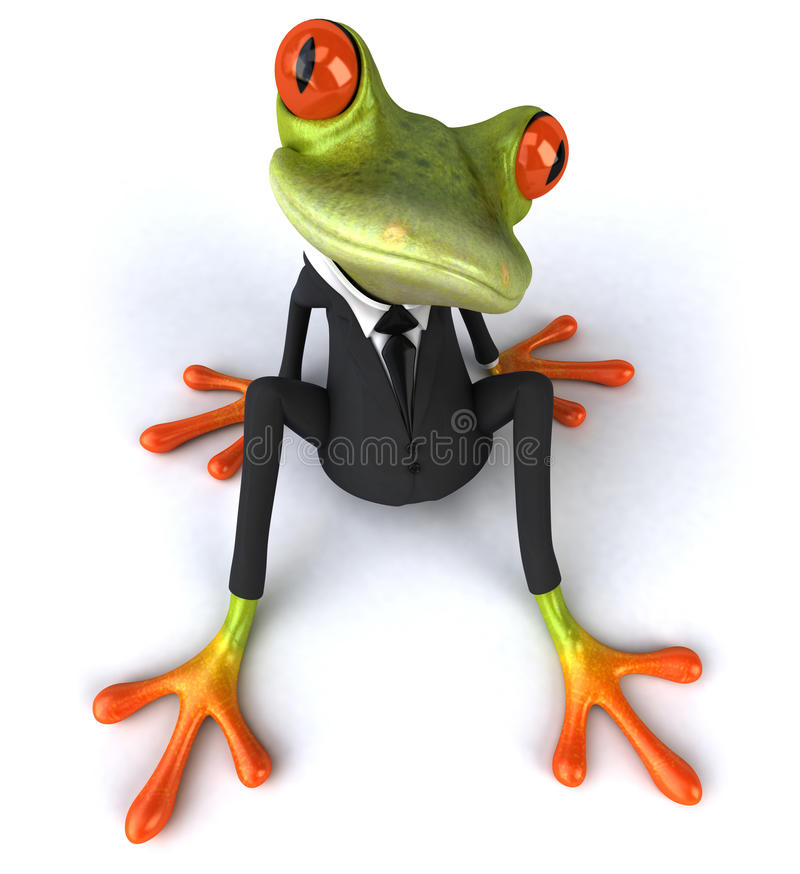 Download Business Frog Royalty Free Stock Photography - Image: 21014457