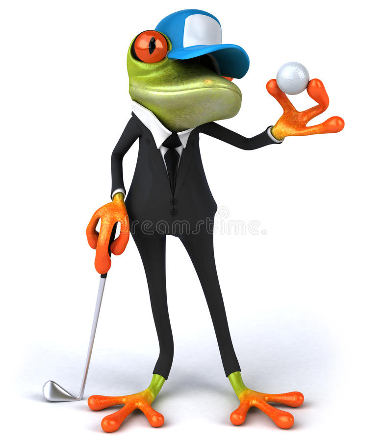 Download Business frog stock illustration. Image of toes, aqua - 21170942