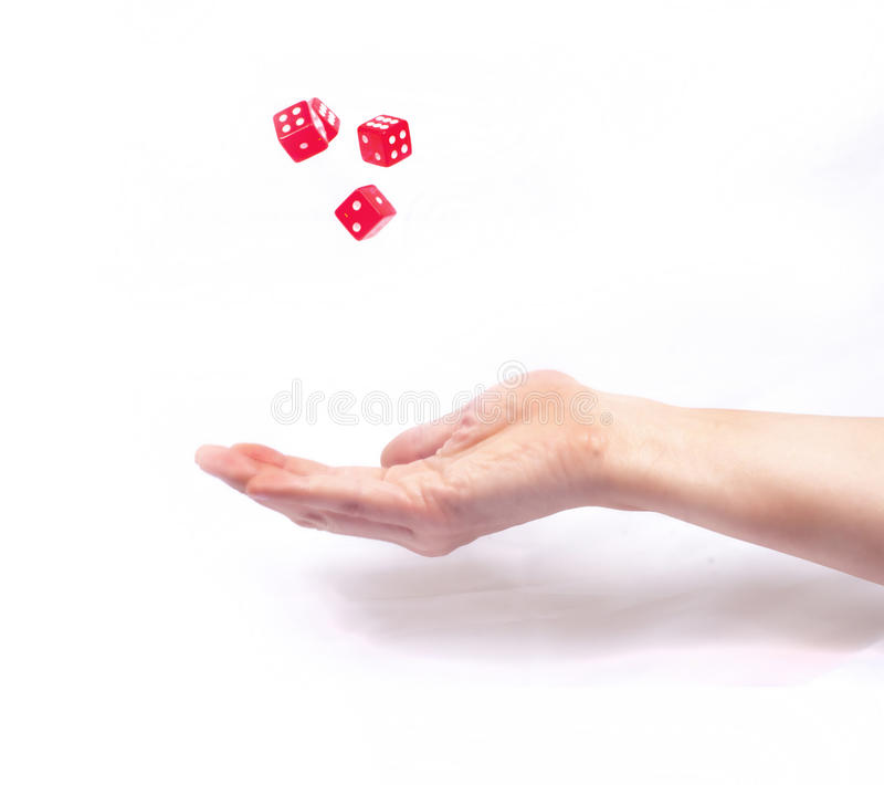 Business gambling royalty free stock photo