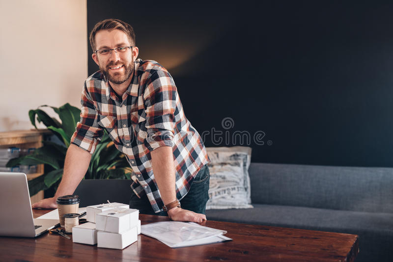 Business is getting better by the day royalty free stock photos