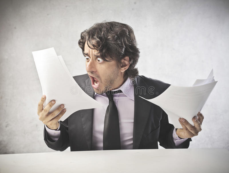 Download Business Getting Crazy stock image. Image of concept - 25595077