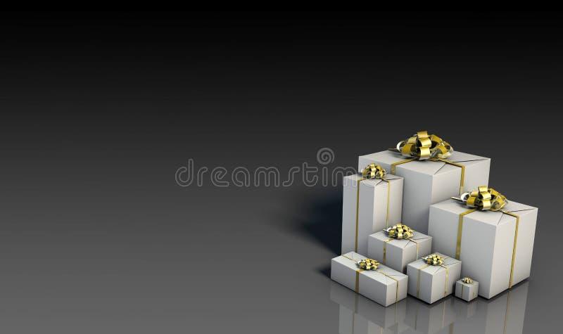 Download Business Gifts stock illustration. Image of modern, backdrop - 10707283