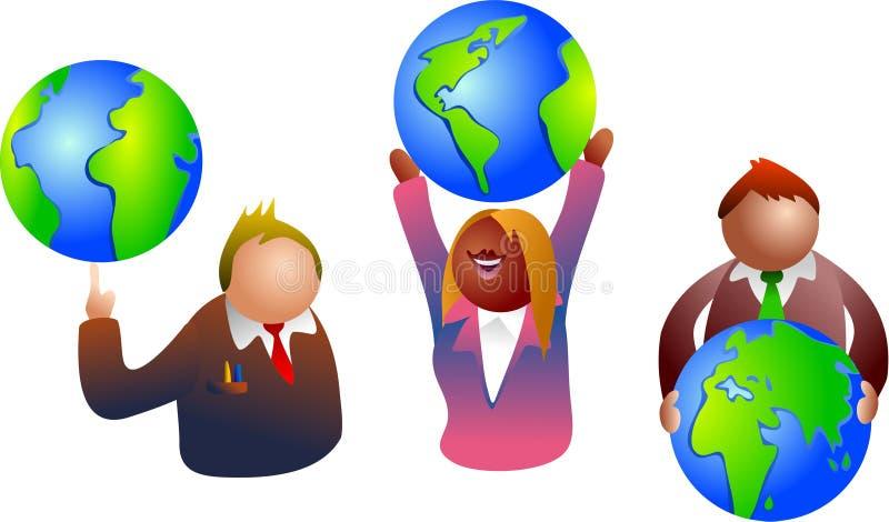 business global 库存例证