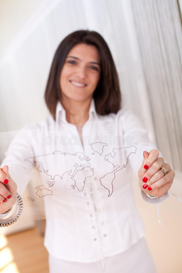 Download Business globalization stock image. Image of concept - 14100363