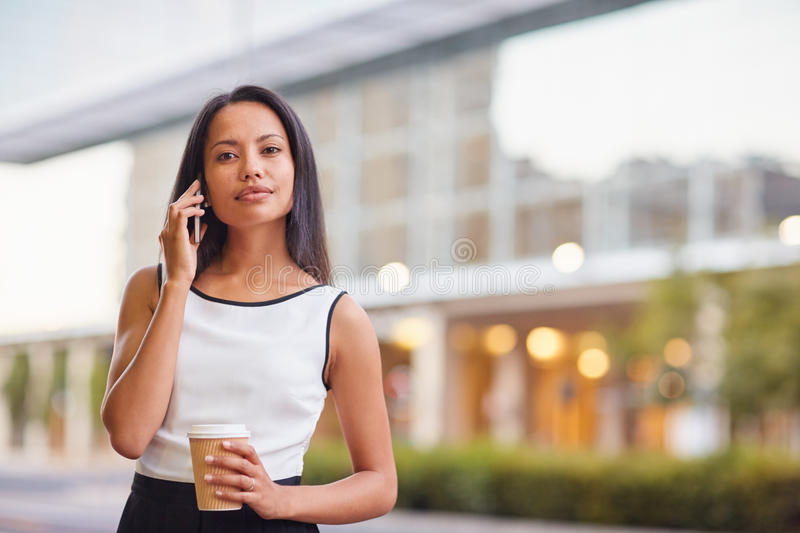 Business on the go stock images