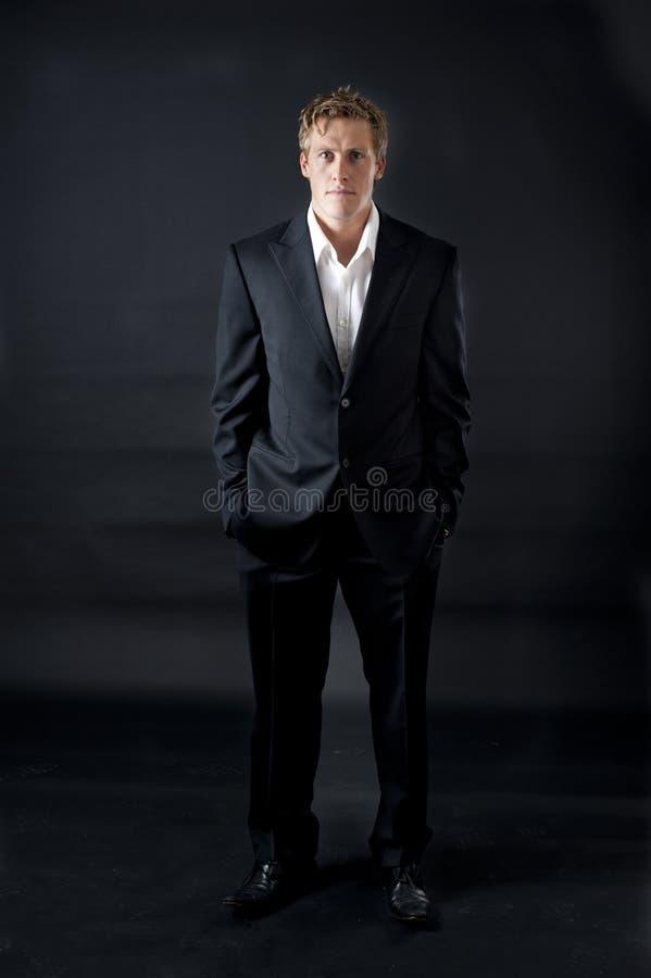 business good looking male type στοκ φωτογραφία με δικαίωμα ελεύθερης χρήσης