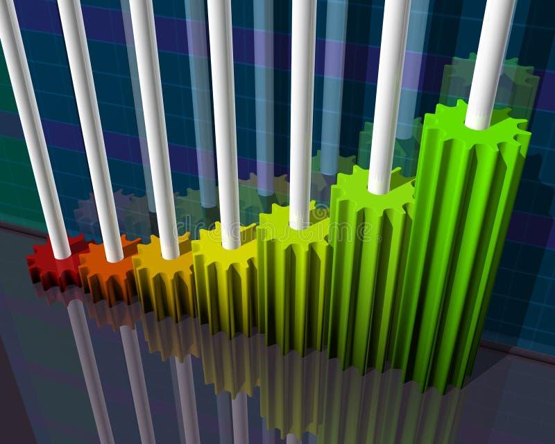 Business Graph vector illustration