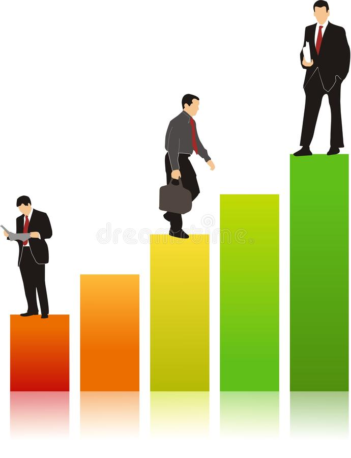 Download Business Graph stock illustration. Image of economic - 14908518