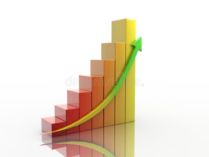Business Graph stock illustration