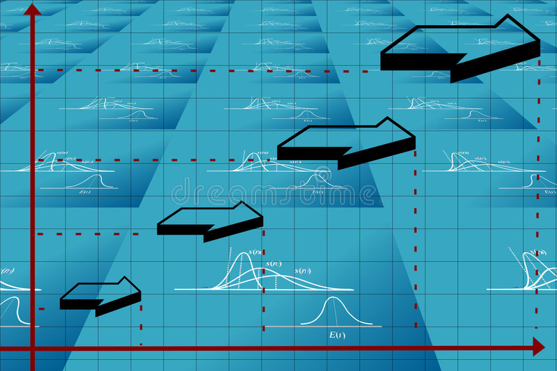 Download Business graph stock illustration. Image of graphics, rise - 2113053