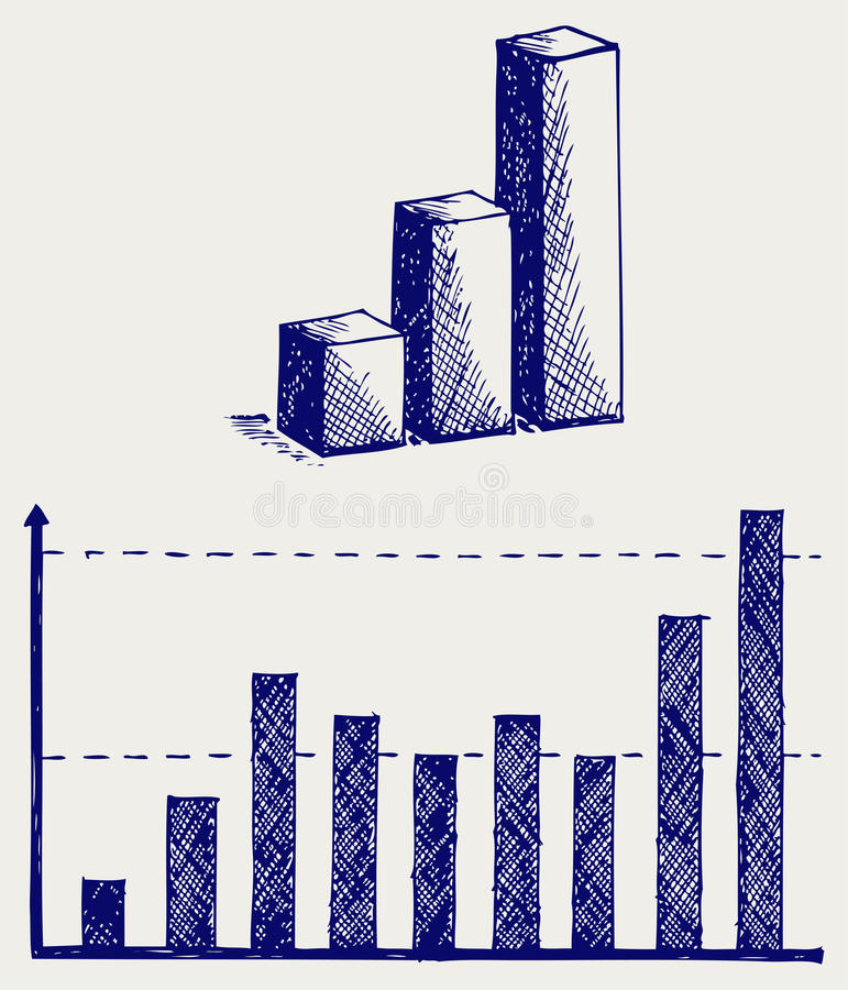 Download Business graph stock vector. Image of creative, report - 26975314