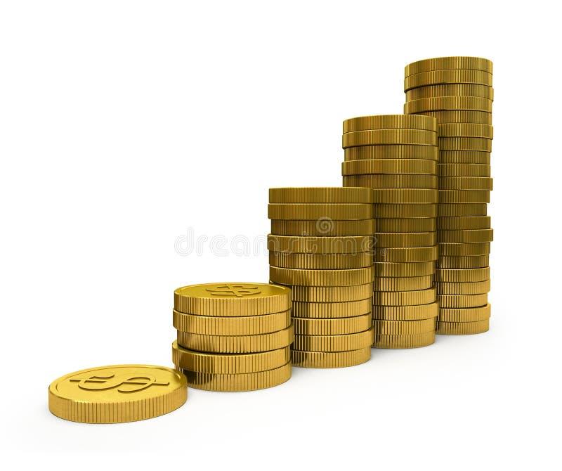 Download Business Graph stock illustration. Illustration of finance - 27419623