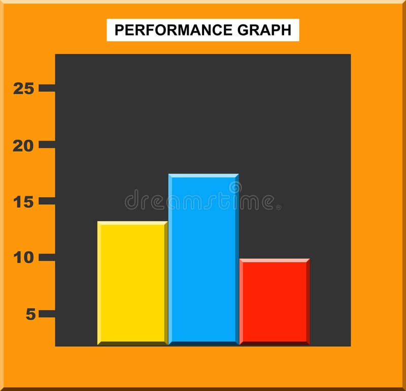 Download Business Graph stock illustration. Image of illustrations - 39860