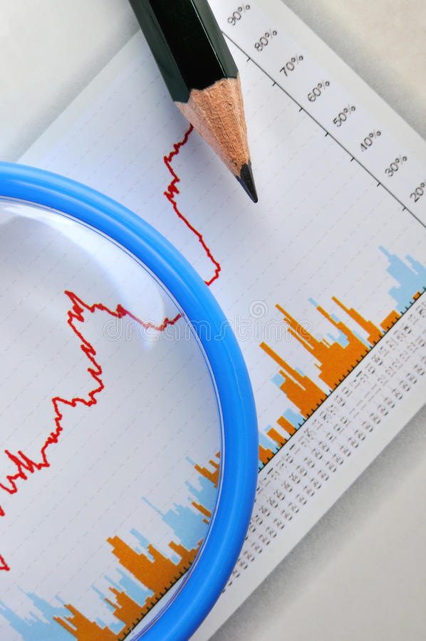 Download Business Graph Analysis Royalty Free Stock Image - Image: 19305926