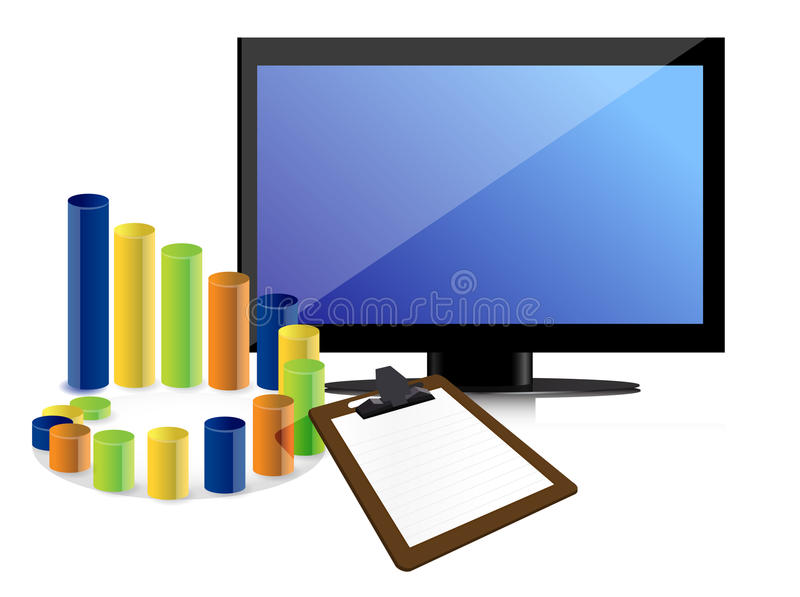 Business Graph And Chart Stock Image