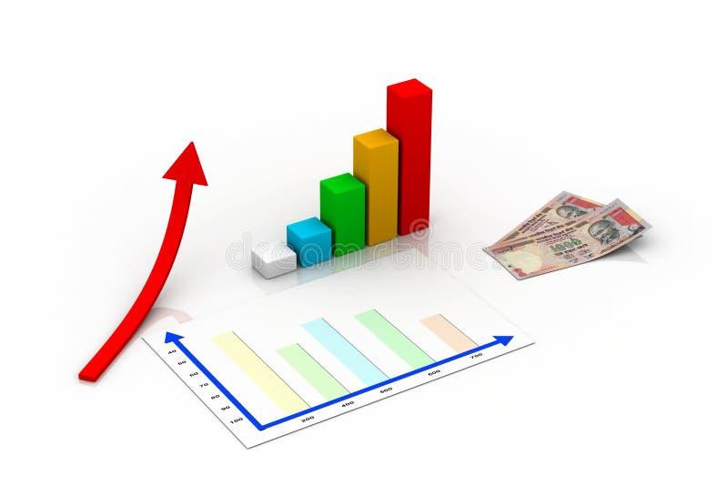 Business Graph Concept Stock Photo