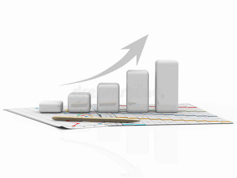 Download Business Graph, Diagram, Chart, Graphic Stock Illustration - Image: 17835937