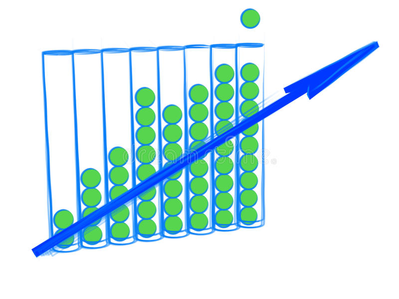 Download Business Graphic Growth Royalty Free Stock Photography - Image: 26685617