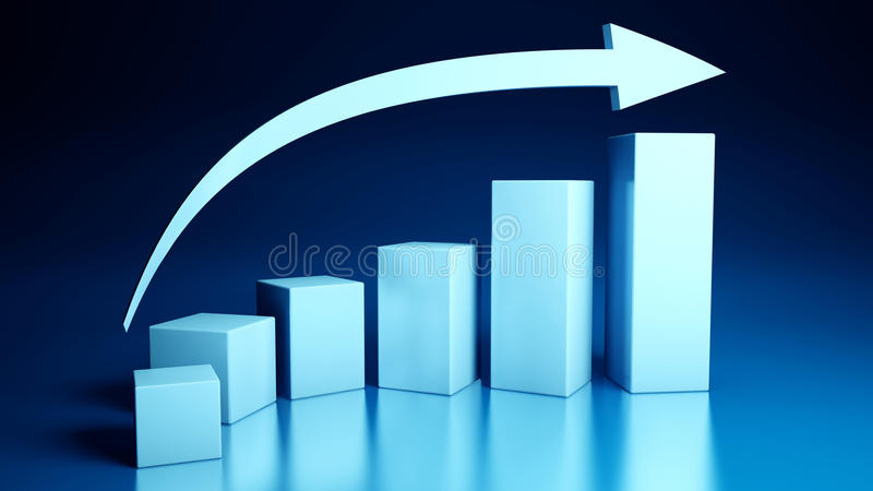Business Graphics Stock Images