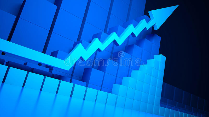 Download Business Graphics And Forex Indicators Stock Illustration - Image: 18906575