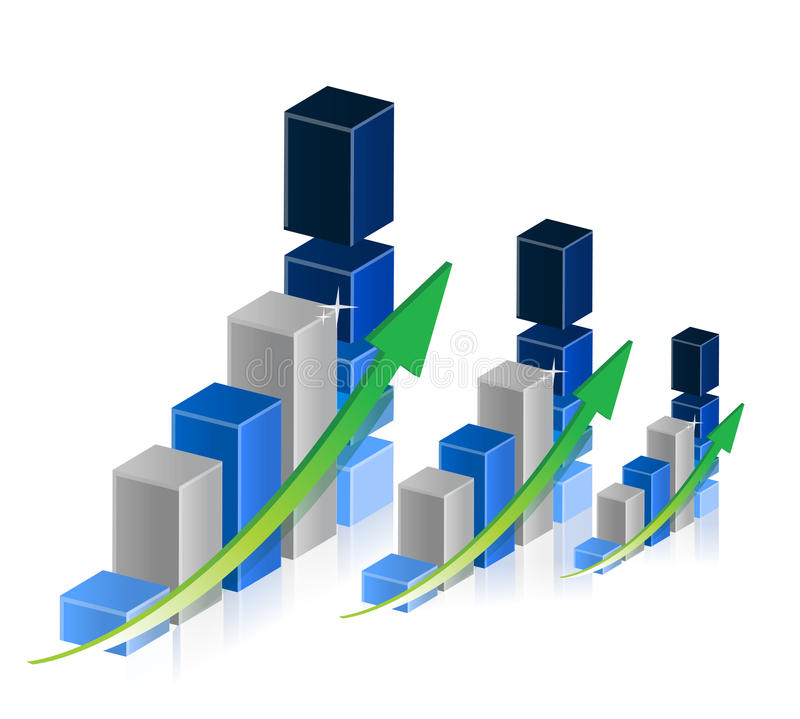 Download Business graphs and charts stock illustration. Illustration of graphic - 29452115