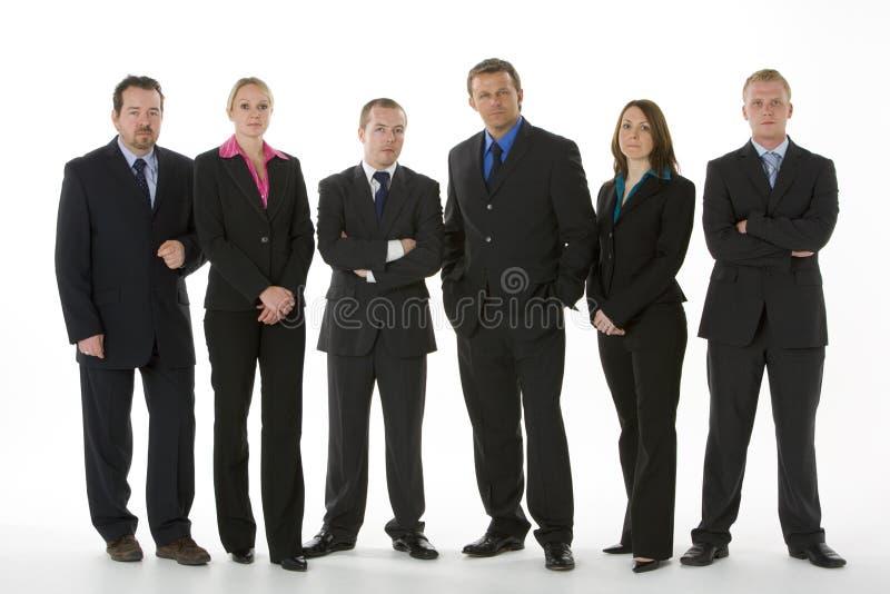 business group line people standing στοκ εικόνες