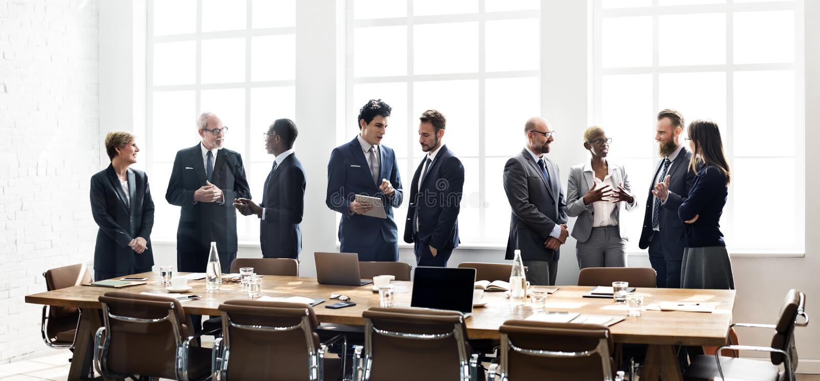 Download Business Group Meeting Discussion Strategy Working Concept Stock Photo - Image: 65272368