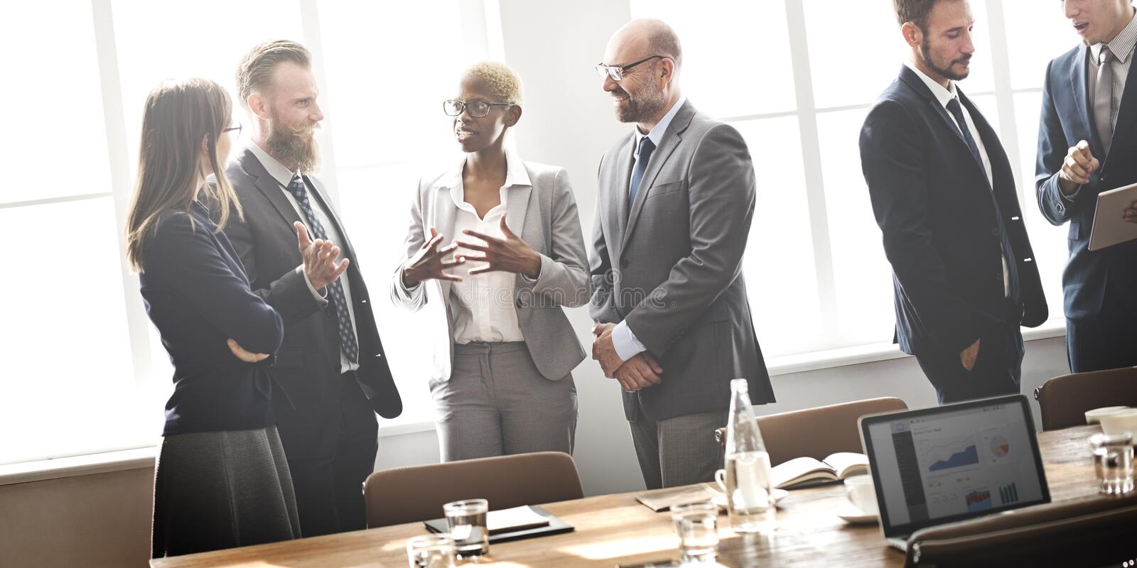 Download Business Group Meeting Discussion Strategy Working Concept Stock Image - Image: 66005727