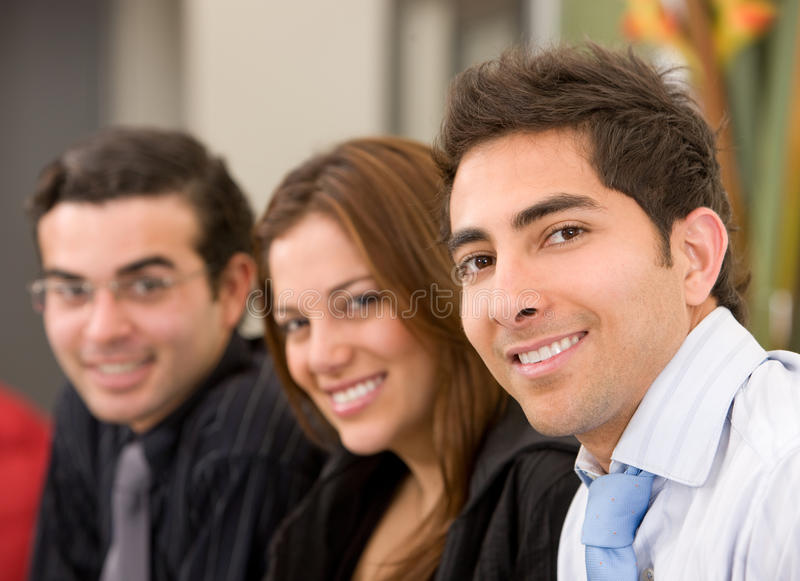 Download Business Group In An Office Stock Photo - Image: 11128100